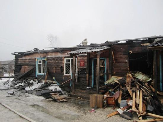 Уничтожено здание суда