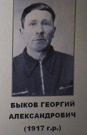 Быков Георгий Александрович