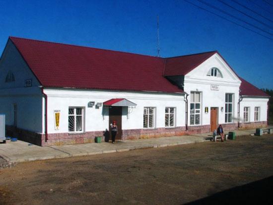 Вокзал станции Виледь