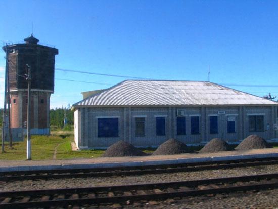 Вокзал станции Кивер