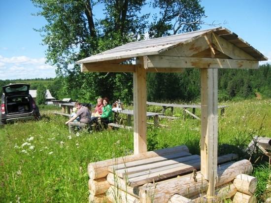 На территории дома-музея Кузнецова в Медведках появился еще один объект - деревенский колодец