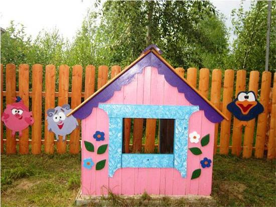 Детский сад в деревне Стрельская
