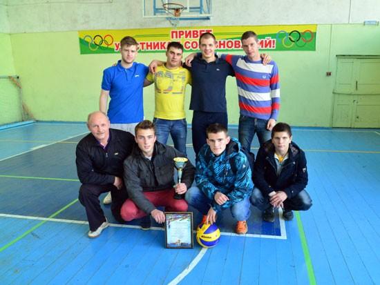 команда подосиновлян по волейболу