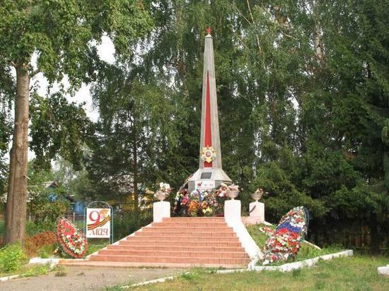 Памятник павшим землякам в Приводино