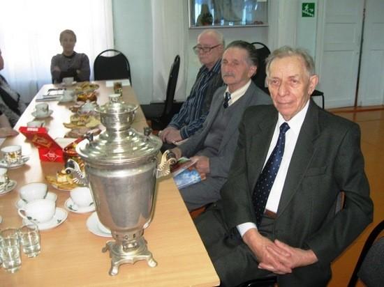 Николай Николаевич Вирячев на встрече с краеведами в Котласском краеведческом музее