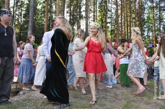 Коммунарский сбор «Белые ночи – 2015» в Каменном бору