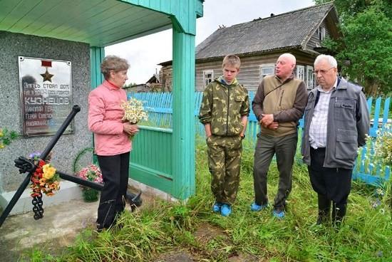 Рассказ о доме-музее Н.Г.Кузнецова в Медведках ведет Р.А. Стрельцова