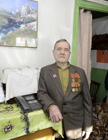 Ветеран Великой Отечественной войны Николай Степанович Шкаредный