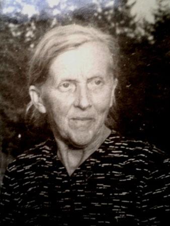 Мария  Гендриксон. 1969 год