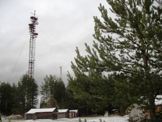 Радиорелейная вышка в Черемухе