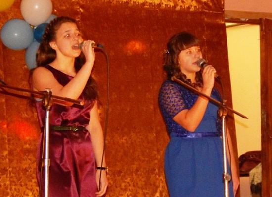 Лиза Ноговицына и Алина Пундева