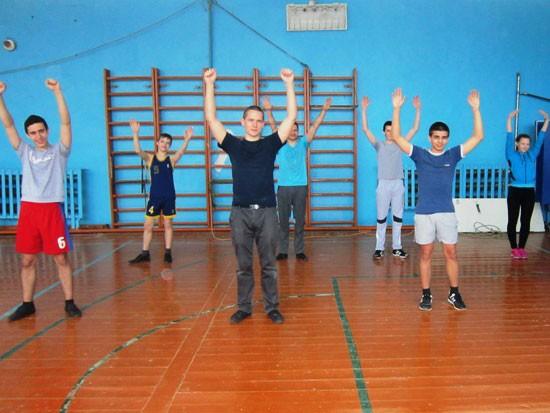 Гимнастика в Опарино
