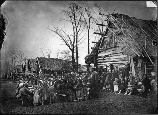 Вятская деревня начала  ХХ века