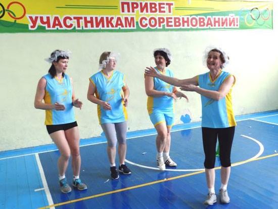 Команда поселка Маромица «Движение»