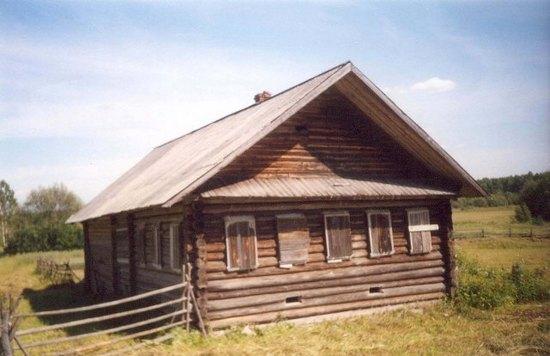 Дом Николая Алексеевича и Евгении Михайловны Кокоулиных в Заполье