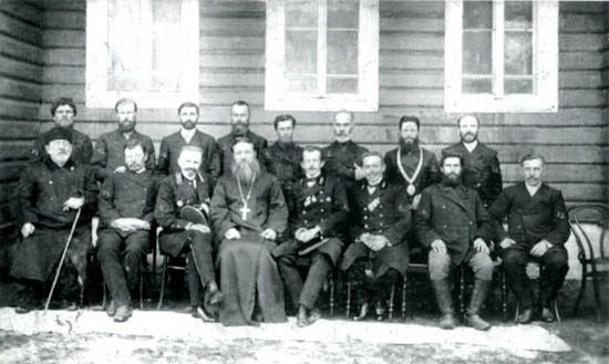 Члены Никольской земской управы