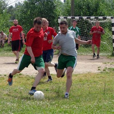 Большой футбол в Опарино