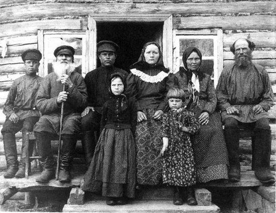 Наши предки – крестьянская семья начала XX века