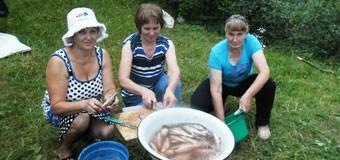 День рыбака в селе Молома