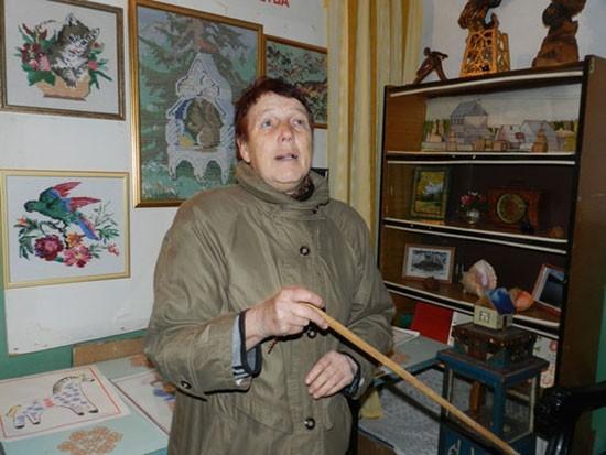Зинаида Кузьминична Козлова на экскурсии