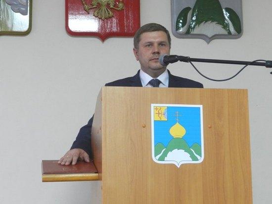 Андрей Дмитриевич Макакров произносит присягу