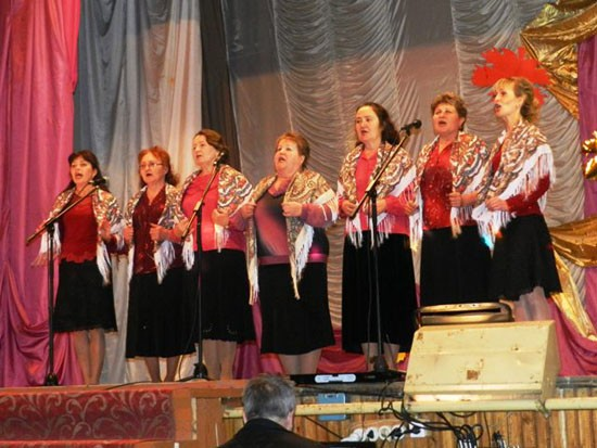 Cмотр-конкурс «Поет село родное»