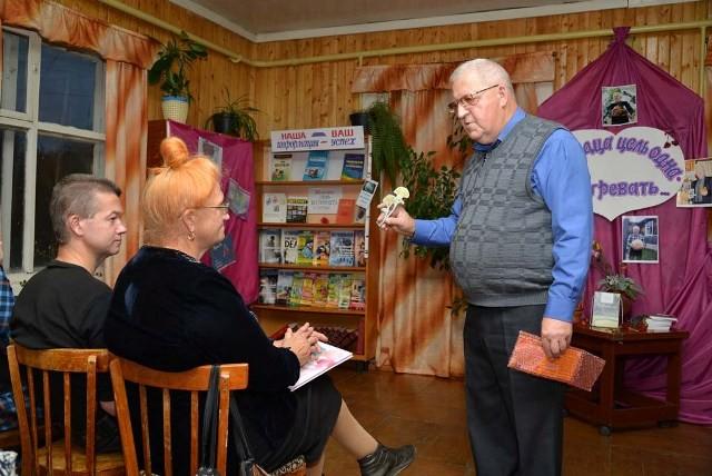 Николай Шкаредный и семья Анатолия Быстрова