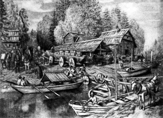 Таким видел древний волок вятский художник Аполлинарий Михайлович Васнецов