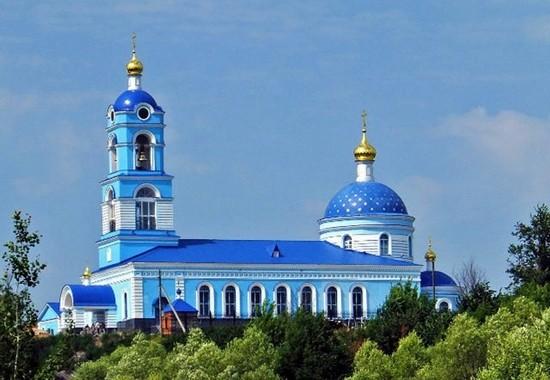Церковь Казанской Божией Матери в селе Новоселки