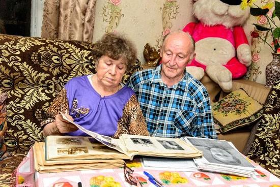 Мои собеседники, ветераны труда Анатолий Иванович и Галина Николаевна Суровцевы