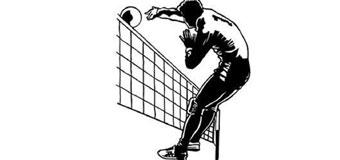 Мяч  над сеткой