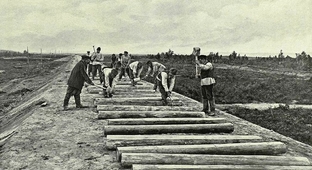 Латышские  путейцы. Часть вторая