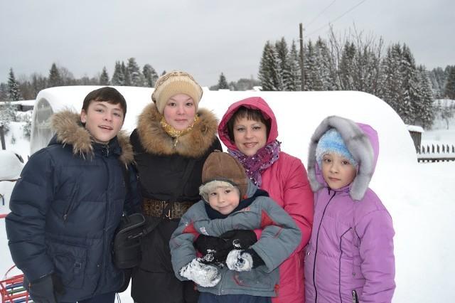 Семья Александра и Оксаны Подволоцких