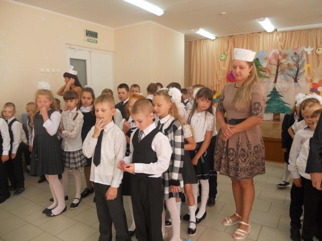 Праздник «День знаний» в Речной средней школе