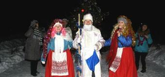 Новый год в Латышском