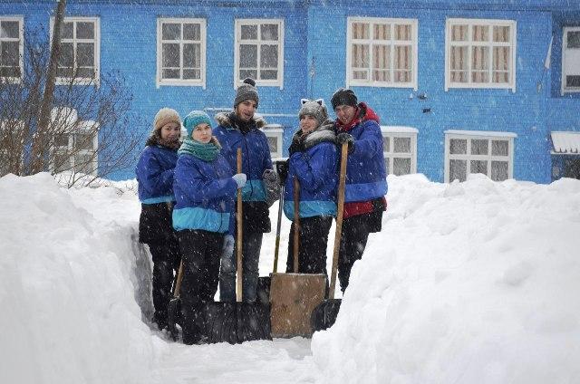 Отряд Снежного десанта «Снежок»