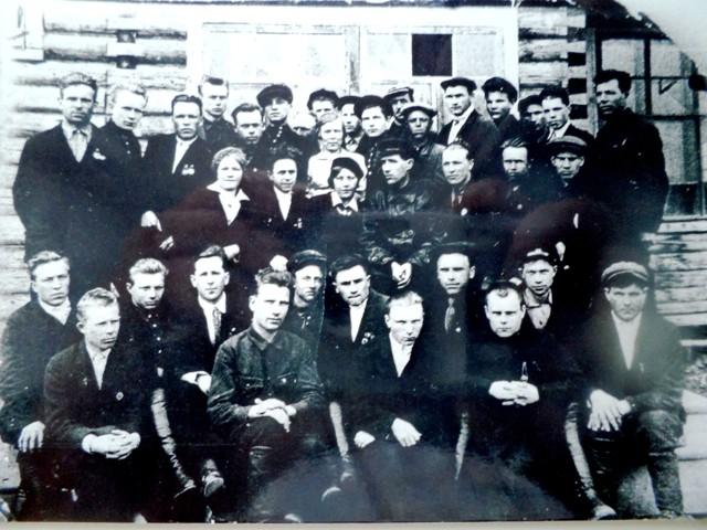 История    Альмежа.   Лесопункт «Консервлес»