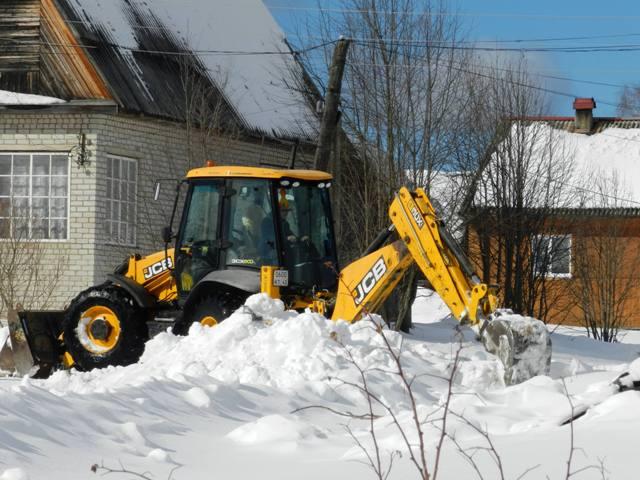 работы по очистке от снега водопропускных труб