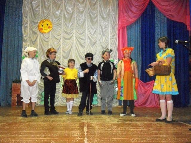 Участники театрального кружка