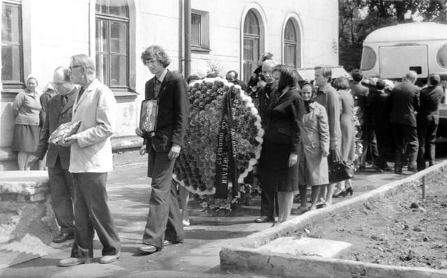 Похороны Громоздова
