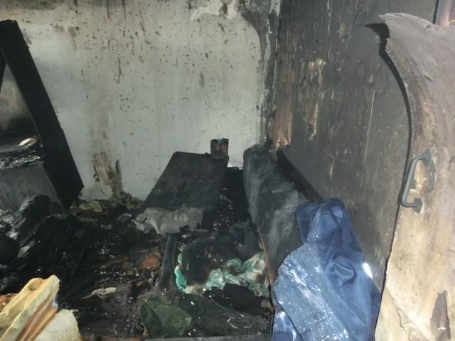 Пожары в Опаринском районе