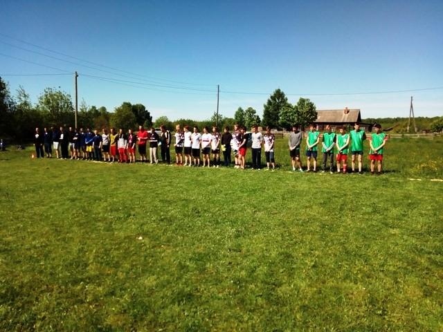 Районные соревнования по футболу, посвященные Дню России