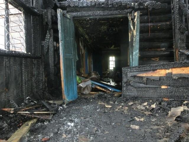 Пожар в продовольственном магазине