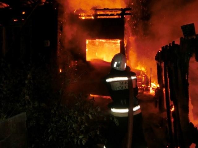 Обстановка с пожарами в Опаринском районе