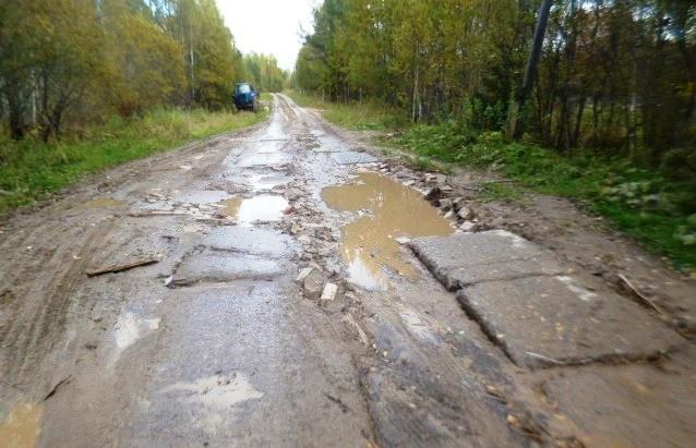 Обследование муниципальных дорог