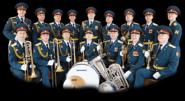 концерт духового эстрадного военного ансамбля «Северная звезда»