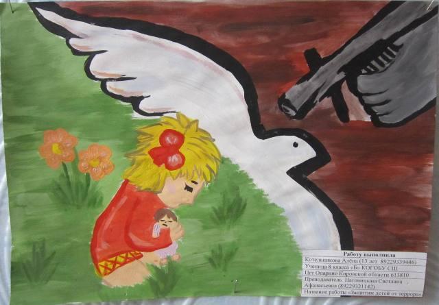 Конкурс плакатов и рисунков «Нет терроризму! Нет экстремизму!»