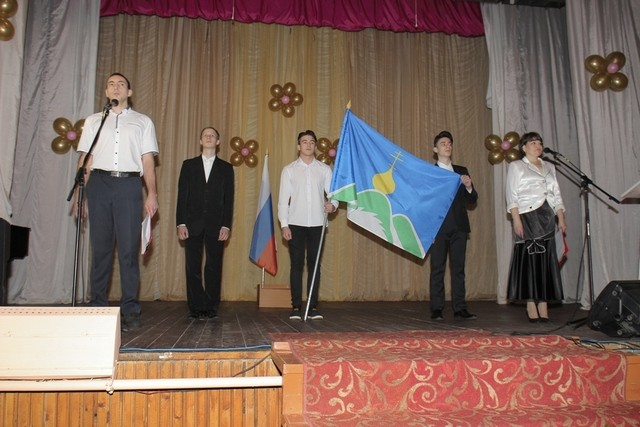 Флаг муниципального образования Опаринского муниципального района