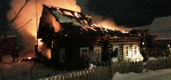 Пожар на улице Волкова