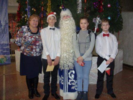 На  ёлке Губернатора Кировской области
